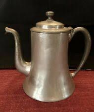 Чайник коллекционных оловянных изделия из металла ...