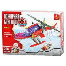 <b>Конструктор AUSINI Пожарная бригада</b>: Вертолёт со ...