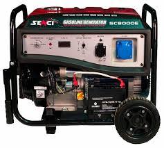 <b>Бензиновый генератор</b> SENCI SC8000E (<b>6500 Вт</b>) — купить по ...