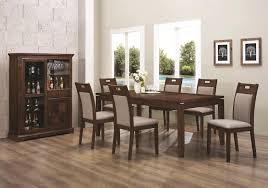 Dining Room Showcase Design Tura Dining Table And Showcase Mm Goatskin Col Cuoio For Sale At