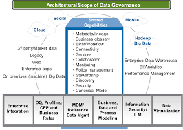 the architectural scope of data governance