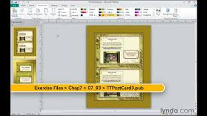 microsoft publisher how to change templates lynda com tutorial microsoft publisher how to change templates lynda com tutorial