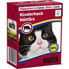 <b>Bozita Chunks</b> in Jelly Wet Cat Food 6 x 370g   Great deals at zooplus!