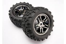Tires -amp wheels, assembled, glued (<b>SS</b> (<b>Split</b> Spoke) black ...