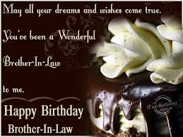 Birthday Wishes for Brother In Law - Birthday Images, Pictures ... via Relatably.com