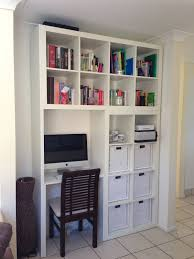 custom designed wall unitcomputer deskbook shelf ikea hackers king bedroom sets bedroom desk unit home
