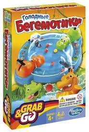 Настольная игра <b>Hasbro</b> Игры Голодные бегемотики. <b>Дорожная</b> ...