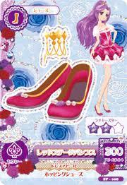 Hasil gambar untuk card aikatsu shoes