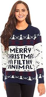 Unisex Women's Ugly Christmas Sweater Knit Funny ... - Amazon.com
