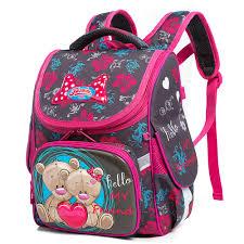 Новая детская сумка для девочек, <b>школьные</b> ортопедические ...