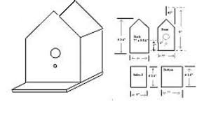 How to Build Bird House Plans With License Plate Roof PDF Plans