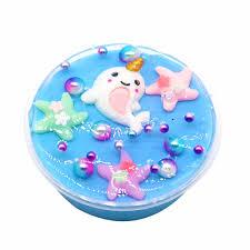 TOY <b>Crystal Dynamic Sand Colorful</b> Galaxy Cloud Fluffy Slime ...