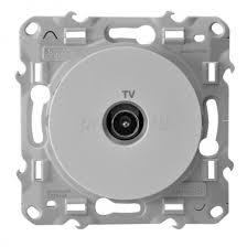 <b>Розетка TV</b> Белый <b>Schneider Electric</b> Odace S52R445 купить ...