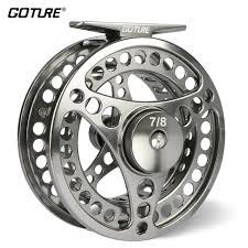 <b>Goture 3/4 5/6 7/8</b> 9/10 WT Fly Fishing Reel CNC Machine Cut ...