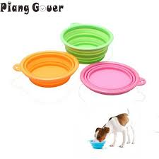 Переносная <b>миска</b> для собак, <b>складная миска</b> для домашних ...