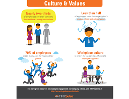facts you should know about company culture values tinyinstitute company culture values infographic