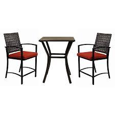 Unique Patio Furniture Sets Treasures Lunburg Black Aluminum Dining Set And Creativity Ideas