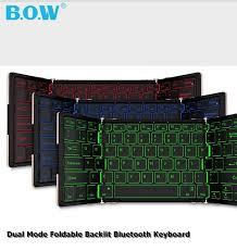 BOW HB099 Dual Mode;Bluetooth/Wired <b>Three fold</b> Foldable Multi ...