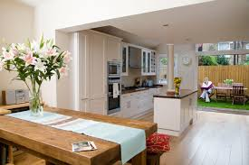 Open Kitchen Living Room Kitchen Conservatory Conversion An Inspiration On Kitchen