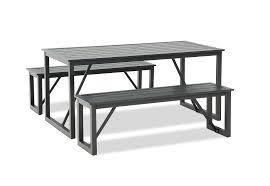 MANSFIELD <b>3 Piece</b> Bench <b>Dining Setting</b> | Amart Furniture