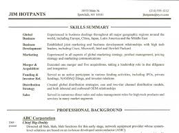 executive summary resume examples qualifications summary resumes executive summary resume examples qualifications summary resumes resume skills summary customer service marketing resume summary of qualifications example