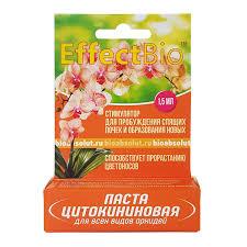 <b>Паста цитокининовая EffectBio</b> для орхидей 1,5 мл купить по ...