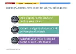 Thesis Writing Tips for Organizing and Writing your Thesis