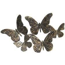 metal wall decor shop hobby: bronze butterflies metal wall decoration shop hobby lobby