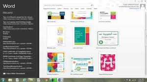 tips on different categories for choosing a template ms office tips on different categories for choosing a template ms office word 2013