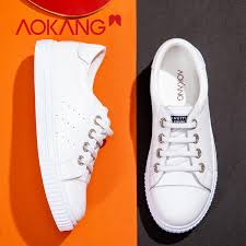 <b>AOKANG</b> 2019 Spring <b>new arrival</b> flats women casual shoes ...