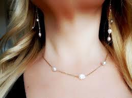 Delicate <b>freshwater pearls</b> jewelry set. Handmade! New! -
