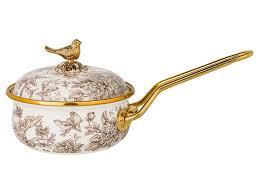 <b>Ковш</b> Agness Royal Garden 900ml - Мебель ручной работы