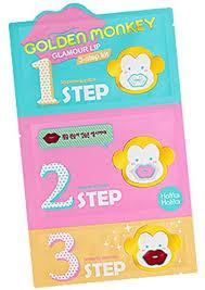[Holika <b>Holika</b>] <b>Golden Monkey Glamour</b> Lip 3-Step Kit: Amazon.co ...