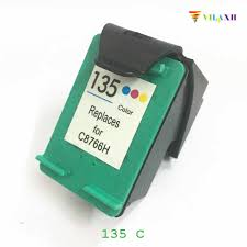 <b>vilaxh</b> Compatible Ink Cartridge Replacement for <b>HP</b> 135 For ...