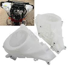 <b>ABS Unpainted Inner Fairing</b> Speakers Cover For Harley Electra ...