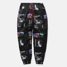 Online Shop <b>HFNF Harem Pants Graphic</b> Print Pencil males Pants ...