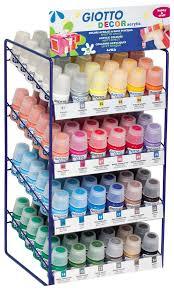 Купить акриловые <b>краски Giotto</b> Decor <b>Acrylic</b> 144 цвета, цены в ...