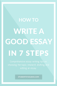 what is a good topic for an essay steps of writing a paperstep think of a topic