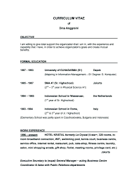administrative secretary resume sample objective x cover letter gallery of executive secretary resume examples