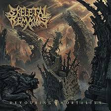 <b>Skeletal Remains</b> - <b>Devouring</b> Mortality (Transparent Red Vinyl ...