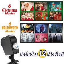 <b>Christmas Halloween Laser</b> Projector 12 Movies Disco Light ...