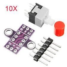 <b>10Pcs CJMCU-010</b> con botón cerradura Interruptor con ...