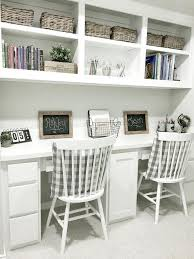 so many things i love about the colors and style of this house farmhouse style kids desk farmhouse style kids built in desk farmhouse style kids built in built home office desk builtinbetter