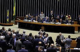 Resultado de imagem para Câmara federal tem plenário esvaziado e maioria Pró-impeachment.
