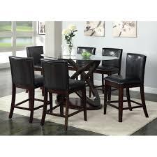 tabacon counter height dining table wine: hokku designs ollivander  piece counter height dining set