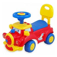 <b>Каталка Everflo Машинка</b> EC-656/556 красный — купить в ...