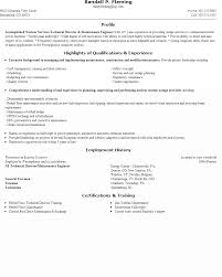 Maintenance Technician Resume Sample   maintenance tech resume happytom co