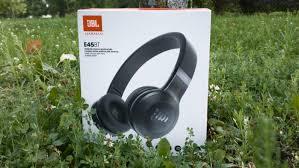 Обзор Bluetooth-<b>наушников JBL E45BT</b>