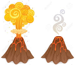 Image result for volcano free clip art