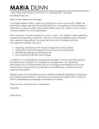 leading professional auditor cover letter examples resources auditor cover letter example